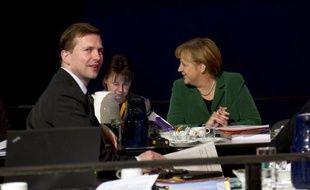 Le gouvernement allemand a douché lundi les espoirs d'une percée sur le destin de la Grèce cette semaine lors des entretiens à Berlin de la chancelière Angela Merkel avec le président français François Hollande, puis le premier ministre grec, Antonis Samaras.