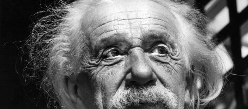 Le physicien Albert Einstein en 1954.