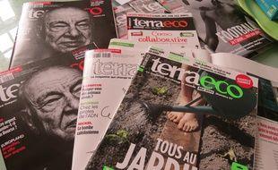 Terra Eco, magazine sociétal et environnemental, basé à Nantes et de diffusion nationale