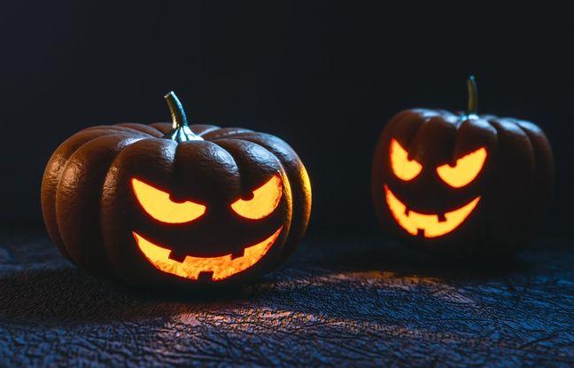 Illustration d'Halloween.