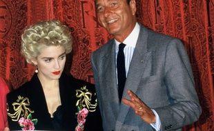 Jacques Chirac, lui, en 1987, il l'avait eu Madonna (et il n'était que Premier ministre à l'époque)