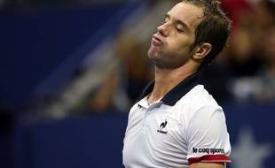 Richard Gasquet à l'US Open le 9 septembre 2015.
