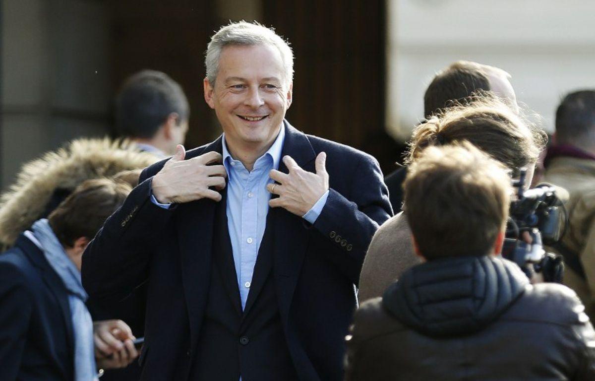 Bruno Le Maire, nouveau ministre de l'Economie.  – CHARLY TRIBALLEAU / AFP