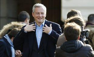 Bruno Le Maire, nouveau ministre de l'Economie.