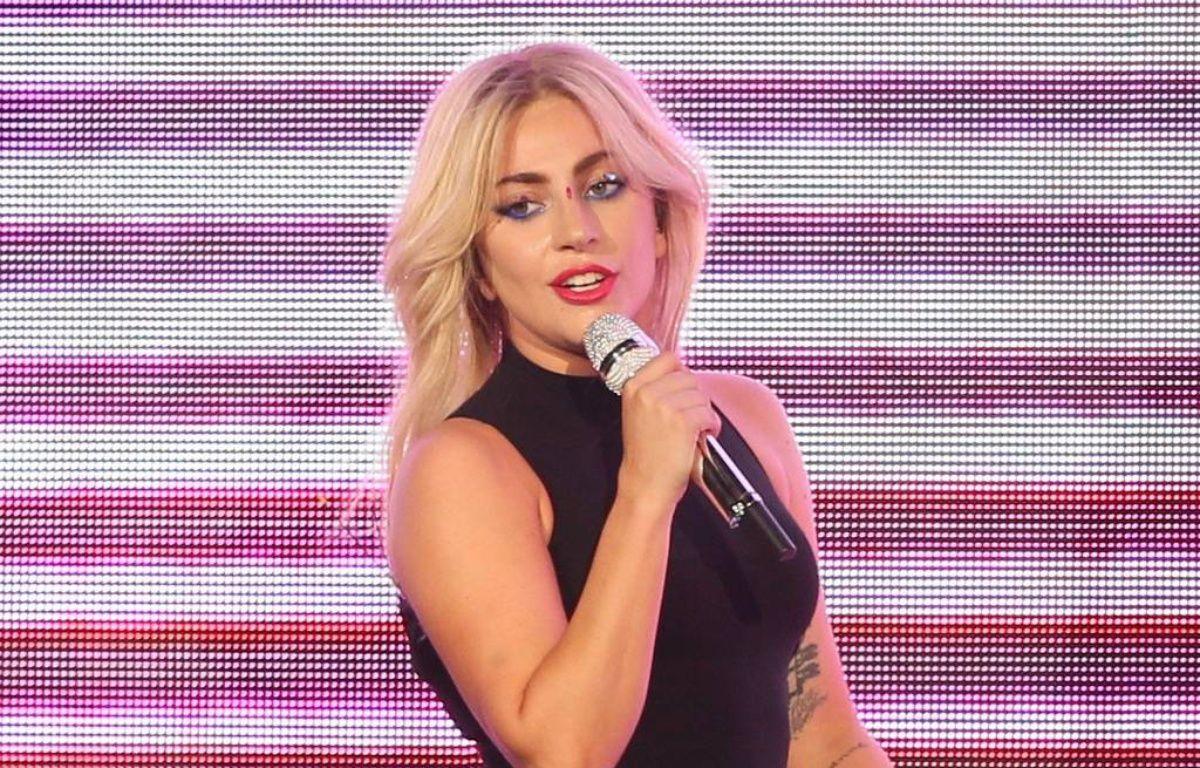 La chanteuse Lady Gaga sur la scène de Coachella – WENN