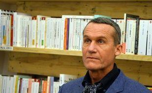 L'écrivain français d'origine russe Andreï Makine, à Bucarest en Roumanie, le 23 novembre 2013