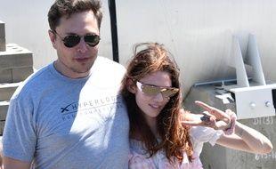 Le milliardaire Elon Musk et l'artiste Grimes