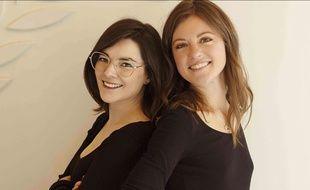 Les Azuréennes Victoria Grillo (Oh!Mine) et Méganne Monteillet (Wakey cosmétiques)
