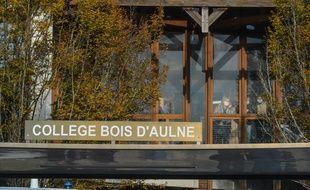 Le collège où enseignait Samuel Paty, à Conflans-Sainte-Honorine, dans les Yvelines. (illustration)