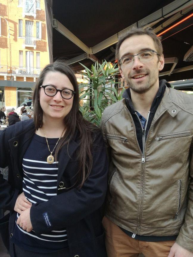 Anne-Fleur et Thomas, du collectif Zero Waste Toulouse.