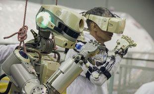 Après avoir passé plus d'une semaine à bord de l'ISS pour assister les cosmonautes russes, le robot Fedor est rentré le 6 septembre.
