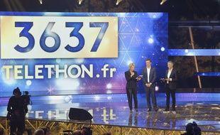 Le plateau du Téléthon en 2019.