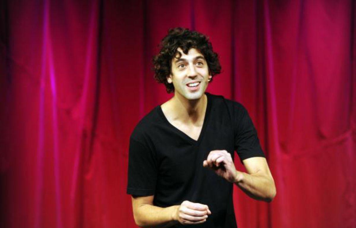 Max Boublil le 12 octobre 2011. – DELALANDE RAYMOND/SIPA