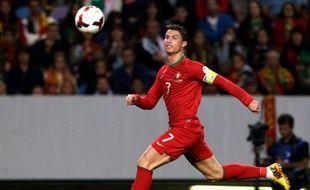 Cristiano Ronaldo, sous le maillot du Portugal.