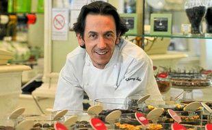 Thierry Lalet, chocolatier à Bordeaux, à la veille du Salon du chocolat