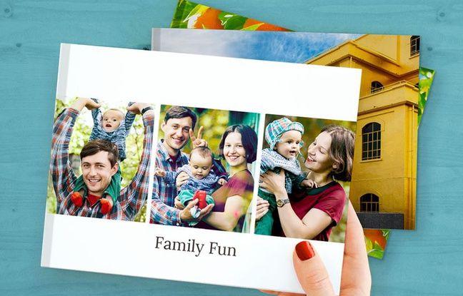 Photobooks promet un livre photo gratuit chaque mois.