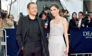 Dany Boon et sa femme, Yaël, lors de l'ouverture, vendredi, du 35e Festival de Deauville.