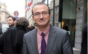 Le député UMP de la Drôme, Hervé Mariton, le 23 novembre 2010 à Paris.