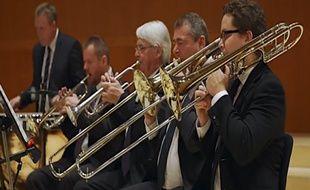 Début d'expérience, les musiciens du Danish National Chamber Orchestra ont l'air encore fringuant...
