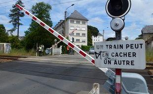 Le passage à niveau du boulevard Marbeuf à Rennes va être supprimé.