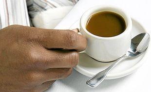 La caféine agit très vite.