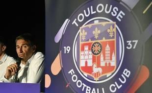 Olivier Sadran n'est plus le président du Toulouse FC.