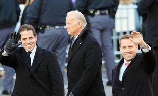 Hunter Biden et son père Joe, en 2009. (archives)