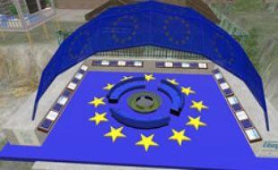 La Maison de l'Europe dans Second Life