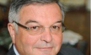 Michel Mercier, président du conseil général du Rhône et nouveau ministre de la Justice depuis le 14 novembre2010.