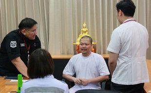 Wiraphon Sukphon, moine thaïlandais défroqué, a été condamné jeudi 9 août 2018 à 114 ans de prison pour fraude et blanchiment d'argent.