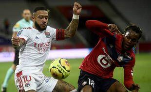 Le Lyonnais Depay et le Lillois Sanches rêvent de priver le PSG du titre
