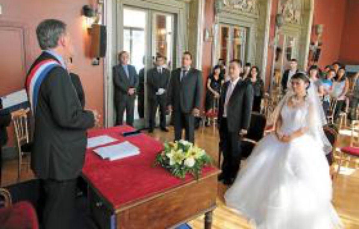 Rudy Salles a dirigé cette première cérémonie, ce mardi. –  F. BINACCHI / ANP / 20 MINUTES