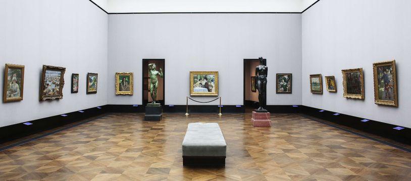 Une exposition d'art impressionniste à l'Alte Nationalgalerie de Berlin (Allemagne).