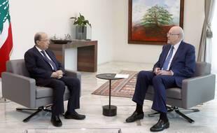 C'est à l'issue d'une rencontre entre le président Michel Aoun et le Premier ministre désigné, Najib Mikati que l'annonce d'un nouveau gouvernement libanais a été faite ce vendredi 10 septembre 2021.