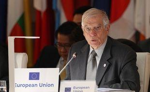 Le chef de la diplomatie européenne Josep Borrell