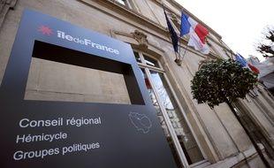 Le conseil régional d'Ile-de-France. (Archives)