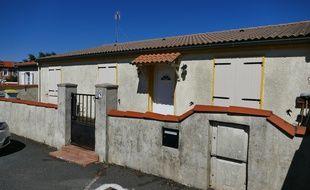 La maison de Guy S, présenté comme le leader du groupe AFO, à Tonnay-Charente.