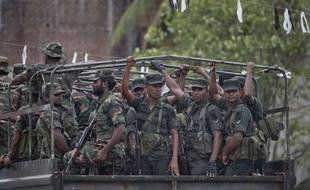 Armée au Sri-Lanka.