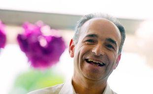 Jean-François Copé, à la fête de la Violette, dans le Loir-et-cher, le 6 juillet 2013.