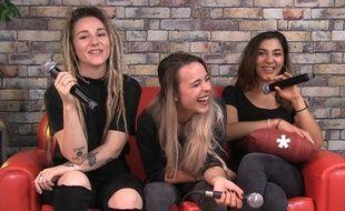 Lucie, Élisa et Juliette, des L.E.J se sont prêtées au jeu de l'interview WTF