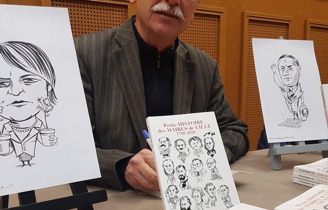Lille: «Je fais très attention à ne pas submerger le lecteur», raconte l'auteur d'un livre sur l'histoire des maires de Lille