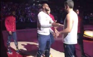 LeBron James et ses potes en pleine action