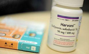 Le médicament Harvoni permet de soigner l'hépatite C.