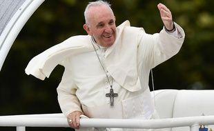 Le Pape François lors de sa visite en Irlande, le 26 août 2018.