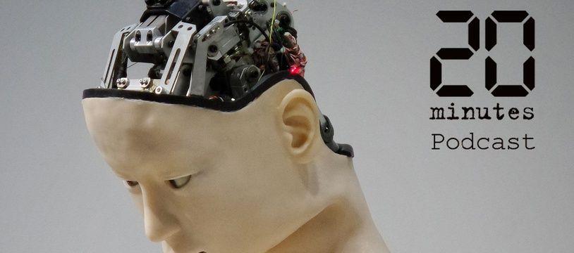 Illustration d'un robot humanoïde