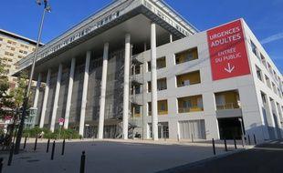Les urgences de l'hôpital de la Timone à Marseille.
