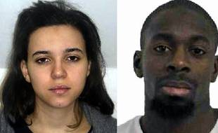 "Les portraits d'Hayat Boumeddiene et Amedy Coulibaly diffusés par la police - Police française  -- EDITORS NOTE --- RESTRICTED TO EDITORIAL USE -- MANDATORY CREDIT ""AFP PHOTO / FRENCH POLICE"" NO MARKETING - NO ADVERTISING CAMPAIGNS -- DISTRIBUTED AS A SERVICE TO CLIENTS"