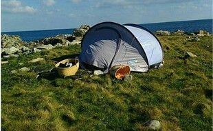 Des jeunes campeurs ont été verbalisés par la gendarmerie pour avoir posé leur tente sur un îlot de Guisseny, dans le Finistère.