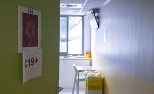 Une jeune femme de 34 ans atteinte du virus est également décédée jeudi à l'hôpital de Cayenne (Illustration)