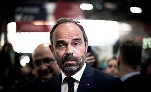 Edouard Philippe, le 27 février 2019 au Salon de l'agriculture.